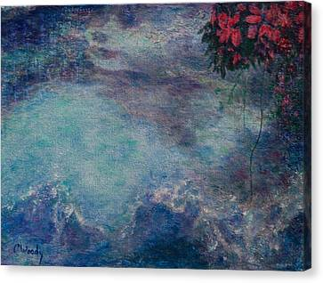 The Water Spirit Reveals Herself Canvas Print