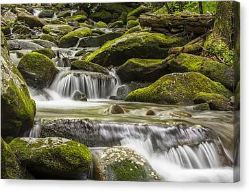 The Water Will Canvas Print by Jon Glaser