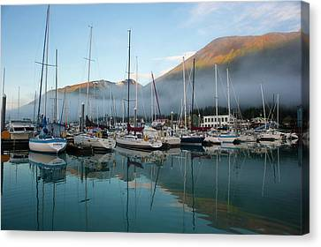 The Waterfront Of Seward, Alaska Canvas Print by Dan Bailey
