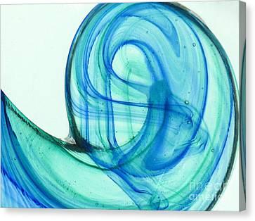 The Wave Canvas Print by Ranjini Kandasamy