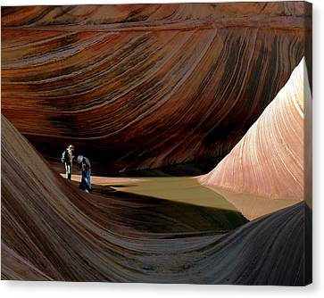 'the Wave' North Coyote Buttes 44 Canvas Print
