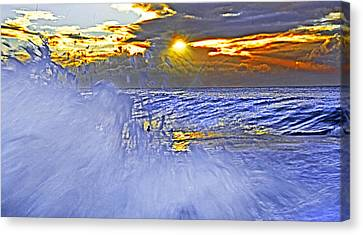 The Wave Which Got Me Canvas Print
