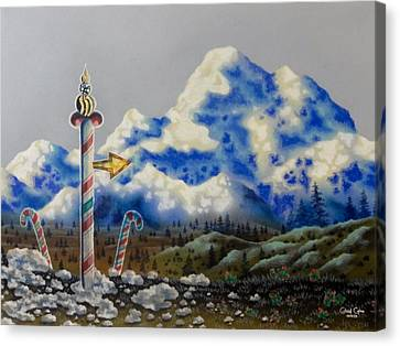 The Way North Canvas Print