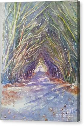 The Way Canvas Print by Patricia Pushaw