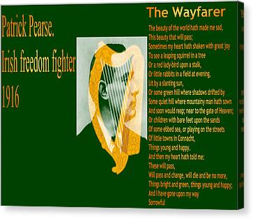 The Wayfarer Canvas Print
