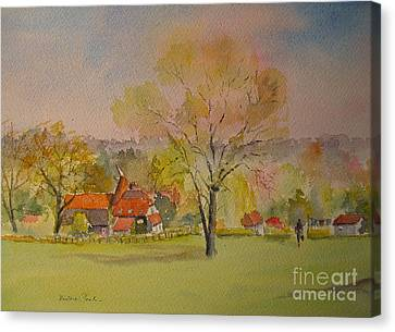 Canvas Print featuring the painting The Weald Of Kent by Beatrice Cloake