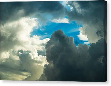 The Weather Is Changing Canvas Print by Alexander Senin