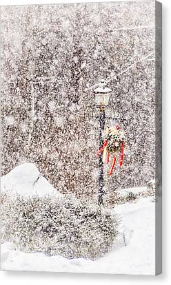 The Weather Outside Is Frightful Canvas Print