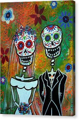 The Wedding Canvas Print by Pristine Cartera Turkus