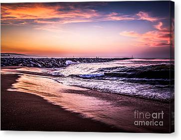 The Wedge Newport Beach California Picture Canvas Print