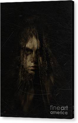 The Weeping Veil Canvas Print by Eating Strawberries