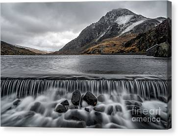 The Weir Canvas Print by Adrian Evans