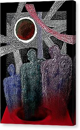 The Well Of Despair Canvas Print by Hartmut Jager