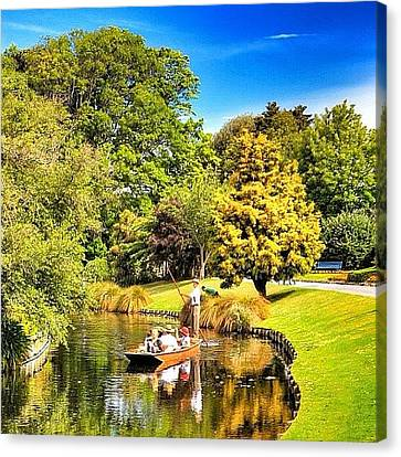 Instago Canvas Print - The Western Boundary Of Mona Vale Is by Tommy Tjahjono