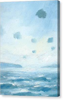 The Western Solent Part Five Canvas Print by Alan Daysh