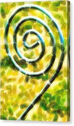The Wet Whirl  Canvas Print by Steve Taylor