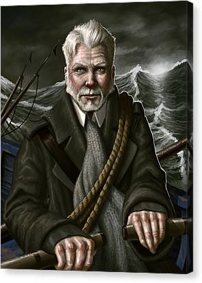 The Whaler Canvas Print by Mark Zelmer