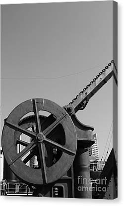 Canvas Print featuring the photograph The Wheel by Maja Sokolowska