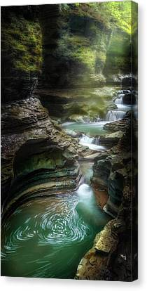 The Whirlpool Canvas Print by Bill Wakeley