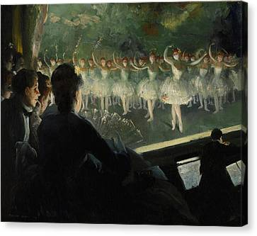 The White Ballet 1904 Canvas Print by Mountain Dreams