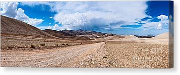 The White Mountains Panorama From The Inyo National Forest. Canvas Print by Jamie Pham