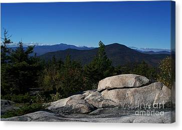 The White Mountains Canvas Print by Steven Valkenberg