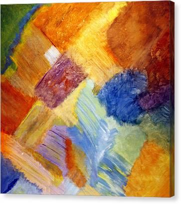 The White Square Canvas Print