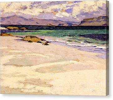 The White Strand  Iona Canvas Print by Francis Campbell Boileau Cadell