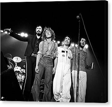 The Who 1975 Canvas Print