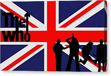 The Who Canvas Print by Bill Cannon