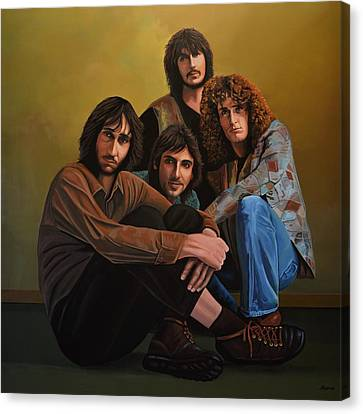 Power Canvas Print - The Who by Paul Meijering