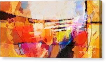 The Whole World Is Invited Canvas Print by Lutz Baar