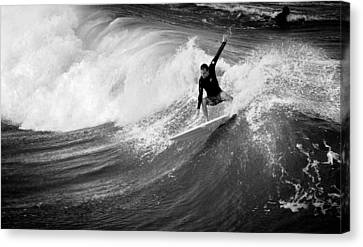The Wicked Sea  Canvas Print