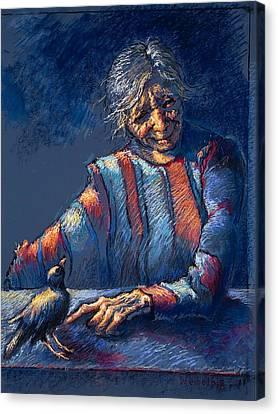 The Widow's Friend Canvas Print by Ellen Dreibelbis