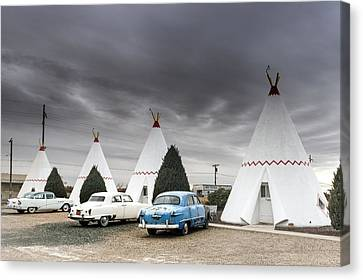 The Wigwam Motel In Holbrook Canvas Print