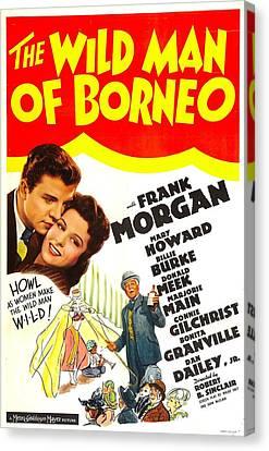 The Wild Man Of Borneo, Us Poster Canvas Print