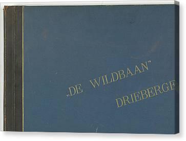 The Wildbaan, Driebergen, 1903-1907, The Netherlands Canvas Print by Artokoloro