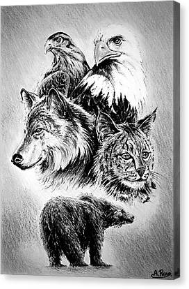 The Wildlife Collection Canvas Print