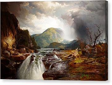 The Wilds Of Lake Superior Canvas Print