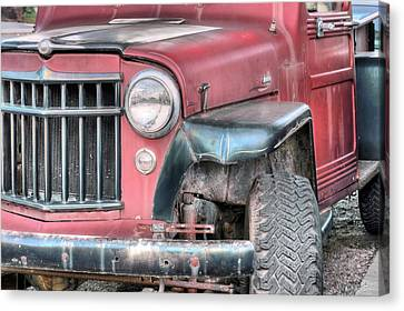The Willys Canvas Print by JC Findley