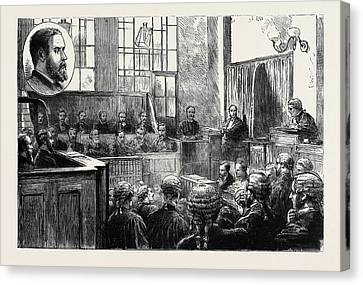 The Wimbledon Poisoning Case Trial Of Dr Canvas Print