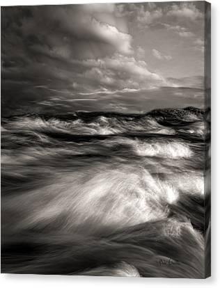 The Wind And The Sea Canvas Print by Bob Orsillo
