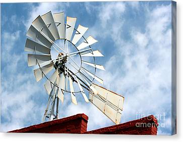 The Wind Wheel Canvas Print by Kathy  White