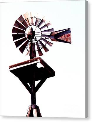 The Windmill Canvas Print by Avis  Noelle