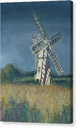 The Windmill Canvas Print by Lori Ippolito