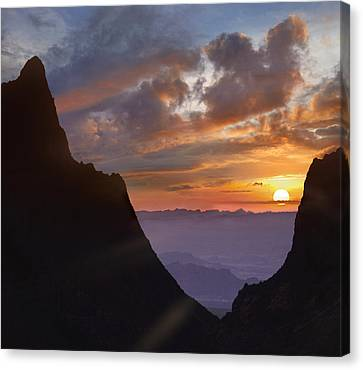 Resource Canvas Print - The Window At Sunset Big Bend Np Texas by Tim Fitzharris