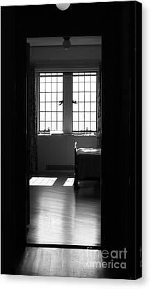 The Window Canvas Print by Barbara Bardzik
