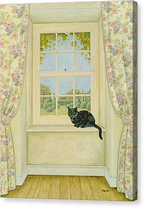 The Window Cat Canvas Print