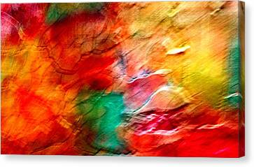 The Winds Of Color Canvas Print by Carolyn Repka