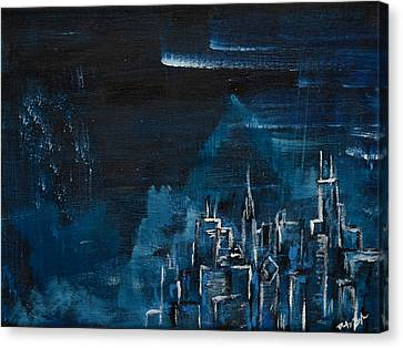 The Windy City Canvas Print